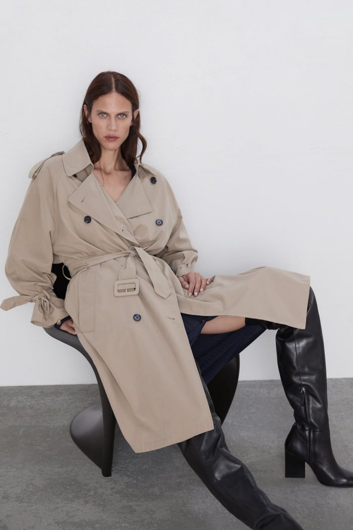 Trench Impermeable Zara